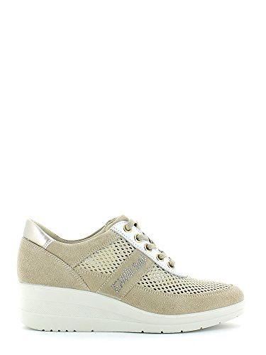 Enval 3911 Sneakers Donna Beige 40