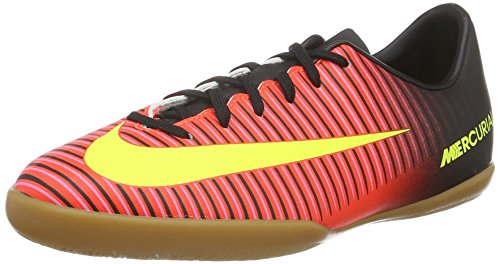 Nike Kids JR Mercurial Vapor XI IC Total Crimson/Vlt Blk Pnk Blst Indoor Soccer Shoe 6 Kids US (Nike Vapor Ronaldo compare prices)