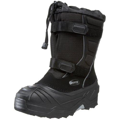 Baffin Eiger Insulated Boot (Little Kid/Big Kid),Black,4 M US Big Kid