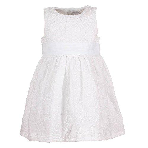 Baby Girls Celebration Mädchen Kleid, weiß, Größe 86