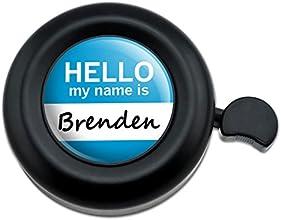 Brenden Hello My Name Is Bicycle Handlebar Bike Bell