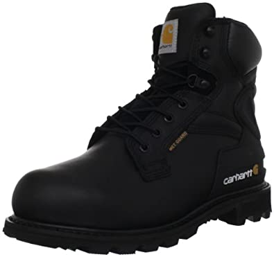 Carhartt Men's CMW6610 6 Met Work Boot,Black Oil Tanned,8 M US