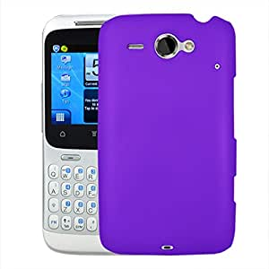 Digione Back Cover for HTC CHACHA A810 (Purple)