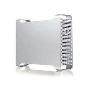 Macally Hi-Speed eSATA/FireWire/USB 2.0 Storage Enclosure for 3.5-Inch SATA Hard Disk G-S350SUAB2 (Silver)