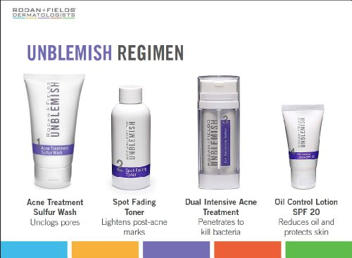 Rodan and Fields Dermatologists Rodan and Fields Umblemish Regimen for Acne and Post-Acne Marks