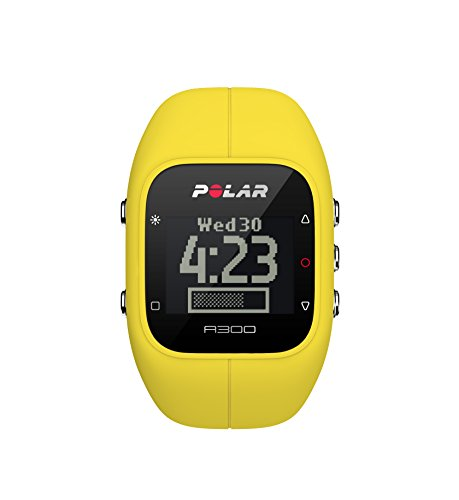 Polar A300 Fitness Tracker and Activity Monitor with Heart Rate (Yellow)