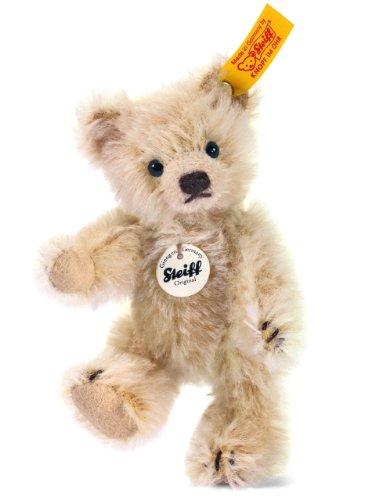 10cm Mini Teddy Bear Jointed (blond) 040009 By Steiff