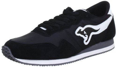 KangaROOS Invader-Basic Trainers Men black Schwarz (blk 500) Size: 37