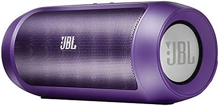 JBL Charge 2 Enceinte Portable Stéréo Rechargeable Polyvalente Sans Fil Bluetooth USB et Résistante aux Projections d'Eau avec Batterie Haute Capacité et Micro Intégré - Mauve
