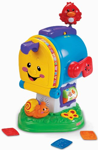 41v5MBz jEL Buy  Fisher Price Laugh & Learn Learning Letters Mailbox