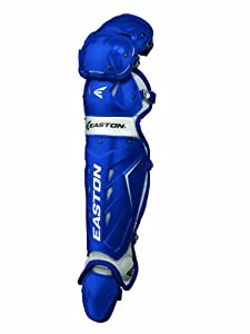 Buy Easton Adult Force Catchers Leg Guards (Royal) by Easton