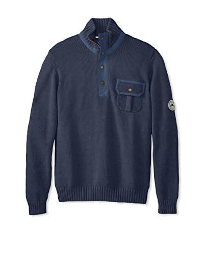 Lindbergh Men's Mock Neck Sweater