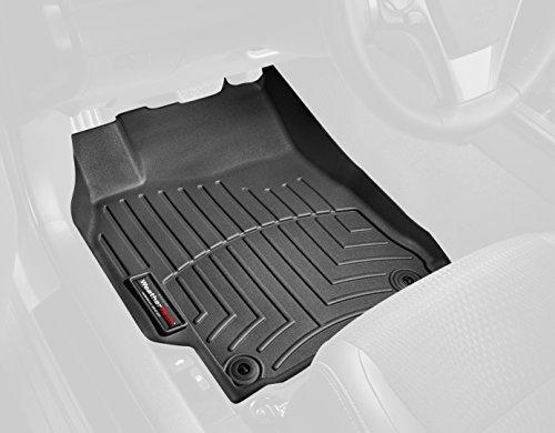 WeatherTech Custom Fit Rear FloorLiner for Select Dodge Ram Models Black