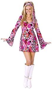 FunWorld Women's Feelin' Groovy Costume from Fun World Costumes