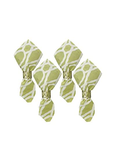 Split P Set of 4 Trellis Napkins