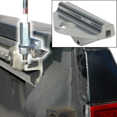 Buggy Whip Antenna Mount For The Side Of A Truck Bed Rail Clamps On To The Bed Rail (Truck Bed Rail Clamps compare prices)