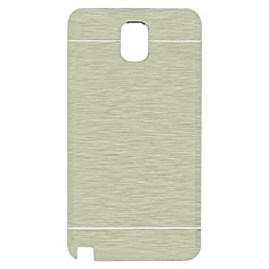 ZAPCASE Metal Finish Back Case for Note 3 (Silver)