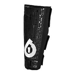 SixSixOne Riot Shin Black Size Soft Shell Pad from SixSixOne