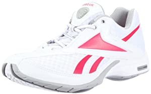 REEBOK Easytone Traintone Slimm Ladies Shoes (White/Pink), White/Pink, UK3.5