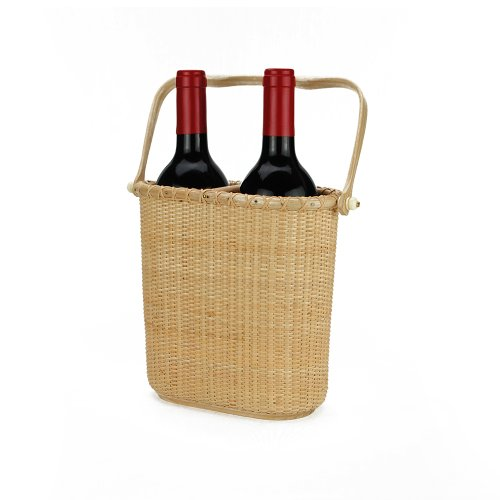 Tengtian Brand, Nantucket Basket, Red Wine Baskets, Gift Boxes Of Red Wine, Woven Rattan, China Traditional Handicrafts, Casual Style, Natural Environmental Protection front-553380
