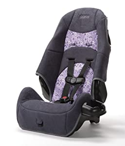 Cosco Juvenile High Back Booster Car Seat, Viola (Discontinued by Manufacturer)