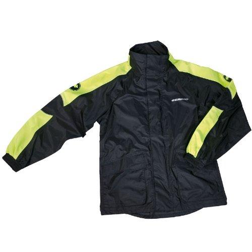 bering veste de pluie moto maniwata fluo taille xl couleur noir fluo sport. Black Bedroom Furniture Sets. Home Design Ideas