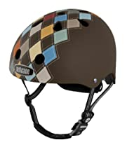 Nutcase Modern Argyle Matte Street Helmet, Brown, Small/Medium