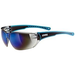 UVEX Erwachsene Sonnenbrille Sportstyle 204, Blue, One size, 5305254416