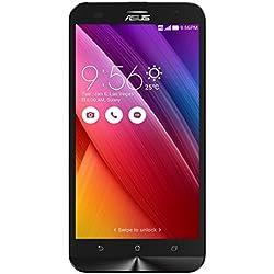 """Asus ZenFone 2 Laser 5.5"""" Smartphone, 16 GB, Dual SIM, Nero [Italia]"""