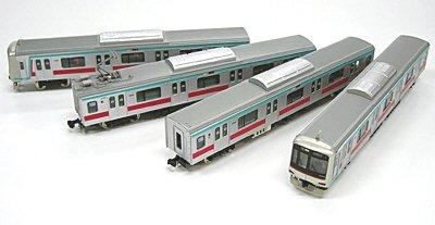 tokyu-series-5000-den-en-toshi-line-w-motor-basic-4-car-set-model-train-japan-import