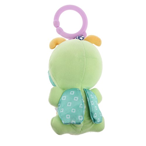 Magideal Cute Smiling Bug Plush Rattles Hand Bell Bed pram Hanging Toy Kid Crib Toy  available at amazon for Rs.230