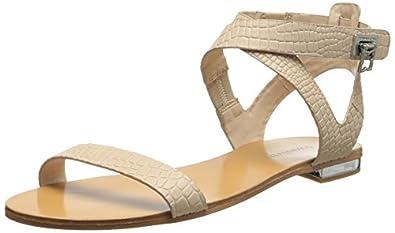 BCBGMAXAZRIA Women's MA-Brannon Dress Sandal,Parfait,6 M US