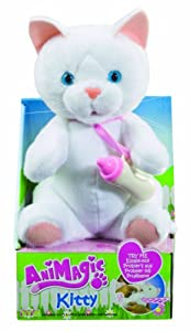 Animagic - 30875 - Peluche - Nursery Kitty