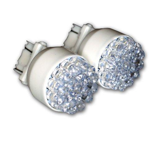 TuningPros LEDPL-3157-W19 Parking Light LED Light Bulbs 3157, 19 LED White 2-pc Set