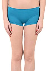 Mynte Women's Sport Shorts Blue MECLWIWP-SHR-104