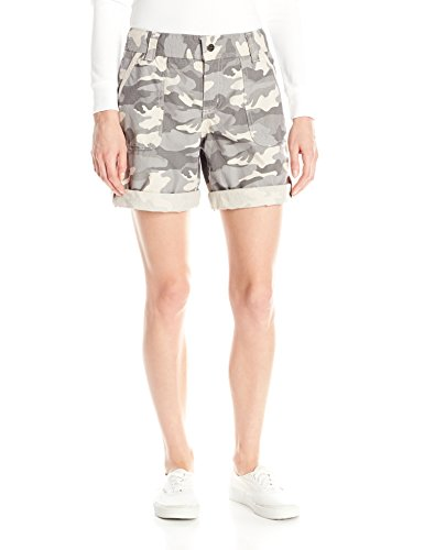 Carhartt Women's Relaxed Fit El Paso Short Camo, Camo Gray, 10 Women Camouflage Shorts