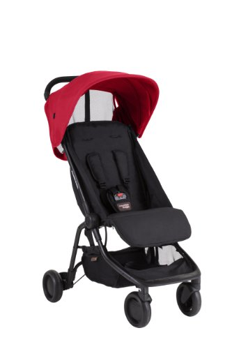 Find Bargain Mountain Buggy Nano Stroller, Ruby