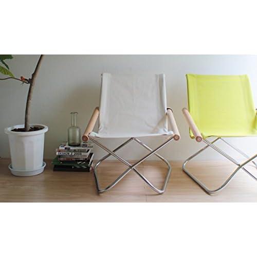 【正規ライセンス】Ny chair YANG ・ニーチェア ヤング(グリーン)                    【デザイナー:新居猛】【MOMA】【折り畳み】【ラウンジチェア】【読書】【アームチェア】