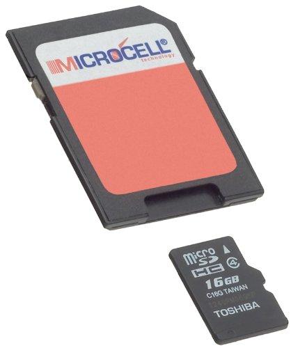 Microcell SDHC 16GB Speicherkarte / 16gb micro sd karte - Geschw. Class 4 für Samsung Galaxy S3 / SIII / Galaxy S4 (i9500) / Samsung Galaxy S2 SII i9100 / S Plus i9001 / Y S5360 / W / S8500 Wave / S8530 Wave II / Note N7000 / S5830 Galaxy Ace / Star 3 S5220 und weitere Modelle
