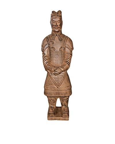 Winward Resin Terracotta Soldier, Brown