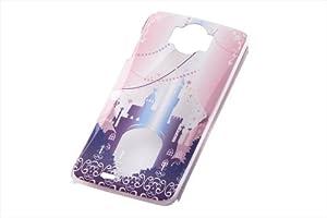 レイ・アウト Disney Mobile on docomo N-03E用  ディズニー・クリアラメ・シェル/キャッスルRT-DN03EB/CA