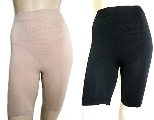 Bodyshaping Slimming Underwear Shorts One Size (2 Pairs)