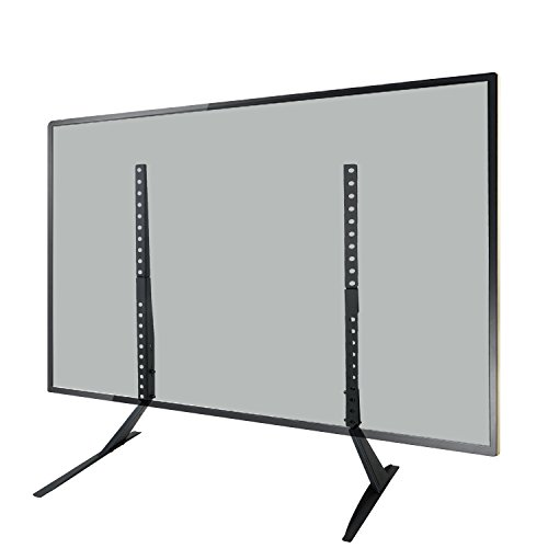 WALI Table Top TV Stand for Most LED, LCD, OLED and Plasma Flat Screen TV up to 55