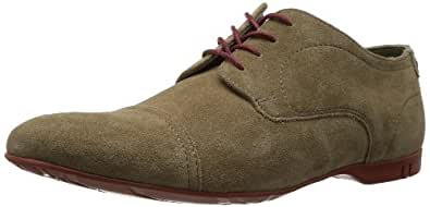Base London Piano, Chaussures de ville homme - Marron (123 Suede Taupe), 41 EU