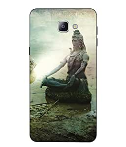 Case Cover Lord Shiva Printed Multicolor Soft Back Cover For SAMSUNG Galaxy A9 Pro