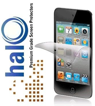 Halo Screen Protector Film Clear Matte (Anti-Glare) for Apple Ipod Touch 4G 4 (3-Pack)