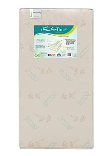 Simmons Kids Slumber Time Naturally Crib and Toddler Mattress