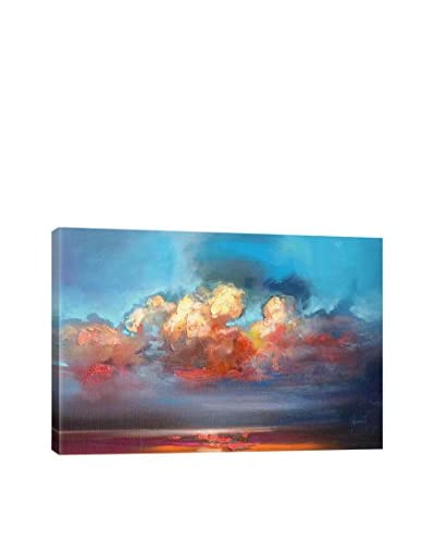 Scott Naismith Vermillion Cumulus Gallery-Wrapped Canvas Print
