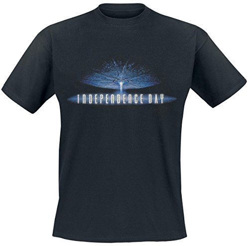 Independence Day Logo T-Shirt nero XXL