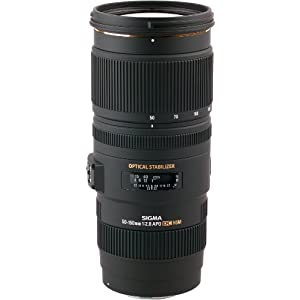 Sigma APO 50-150mm F2.8 EX DC OS HSM for Canon EOS DSLR